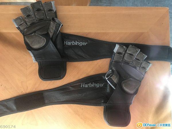 Harbinger 真皮訓練護腕健身手套