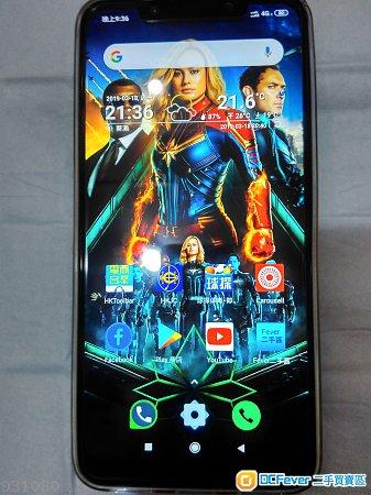 小米POCOPHONE-F1藍色6+64GB (95%新淨機)