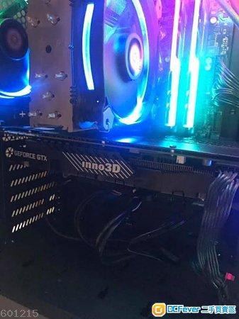超新 inno3D GEFORCE GTX 1070Ti 8GB
