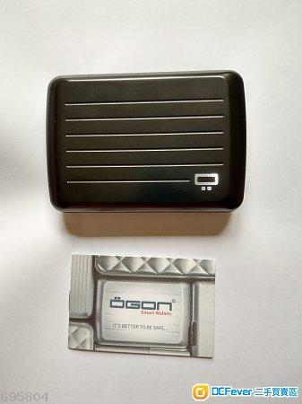OGON aluminum smart wallet(黑色鋁質銀包)