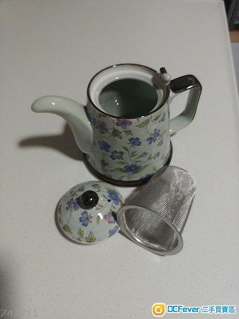 日本小型陶瓷茶壺