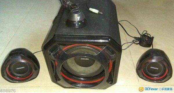 Philips 多媒體喇叭2.1