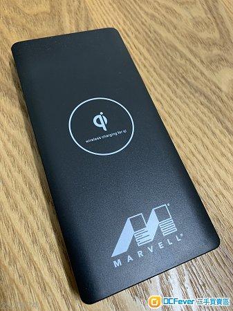 MARVELL 無線充電尿袋 10000mAh 充電寶 wireless charging for qi