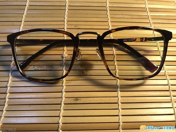 韓國製造復古中金亮玳瑁色眼鏡(D10)