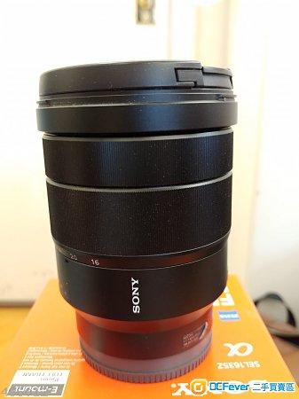 Sony FE16-36mm F4 ZA SEL 1635Z
