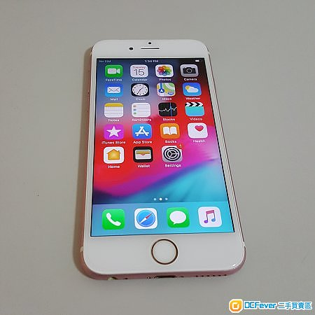 iPhone 6s Plus + 64G 玫瑰金 港行 淨機 100% 正常