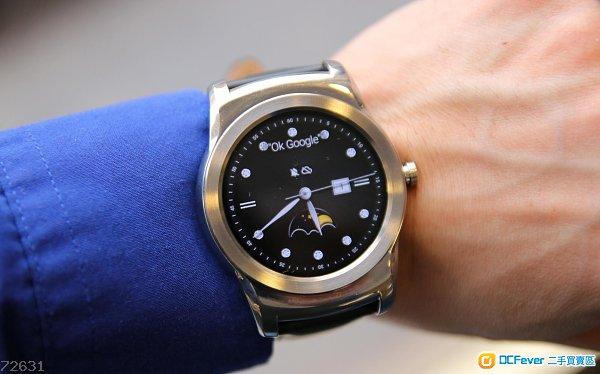 90% new LG watch urbane w150 銀色