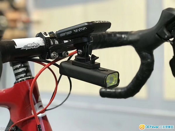 GACIRON 加雪龍 USB充電防水專業單車前後燈