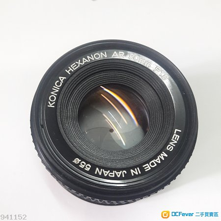konica HEXANON AR 50mm 1.8  電影鏡式散景,東方蔡司