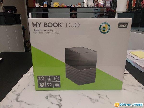 全新(只開過盒) my book duo West Digital 2019年3月21日買。 行貨有單有保。仲未過7日有壞番鋪頭換