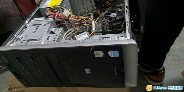 HP 主機,CPU2.2G RAM2G HDD320G 沒有安裝系統。