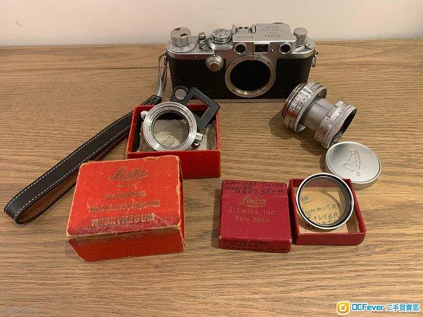 Leica IIIf ltm m39螺絲機