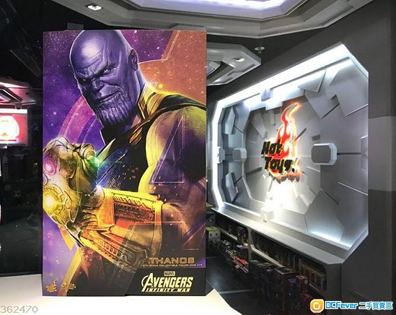全新現貨 Hottoys MMS479 Thanos 滅霸 連保養單 Avengers Infinity War