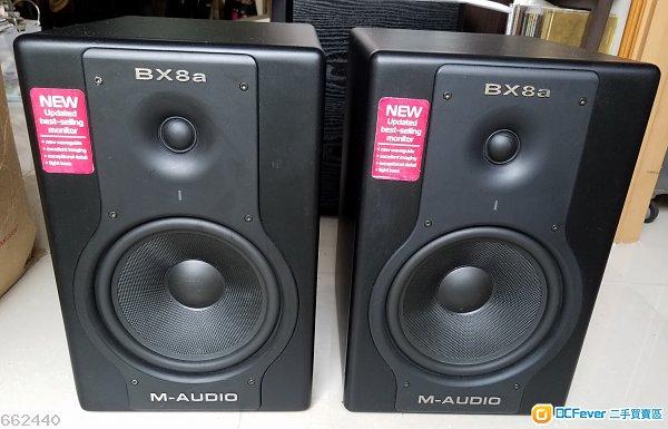 M-Audio BX8a speakers高級有源喇叭 一對 (壞)