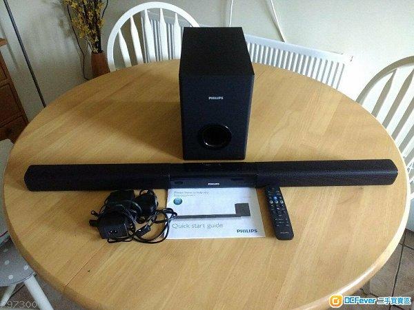 SoundBar Philips HTL2163B 8成新 正常運作