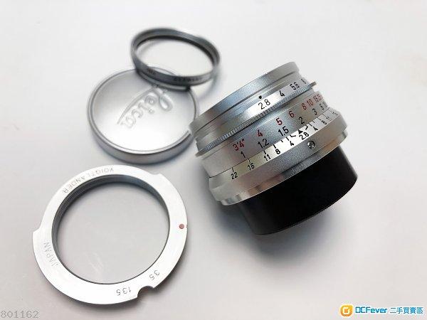 Leica Summaron-M 35mm 德製小八妹