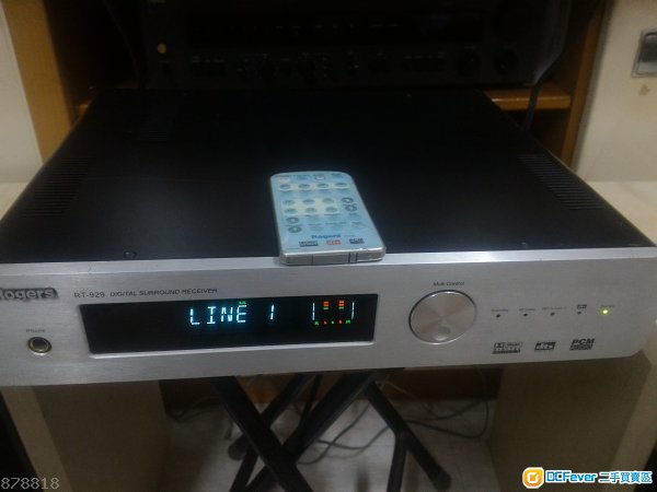 Rogers rt-929 digital surround receiver