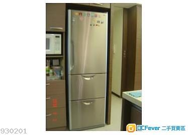 日立牌三門雪櫃有自動製冰空間大搬屋私人出讓 59123782