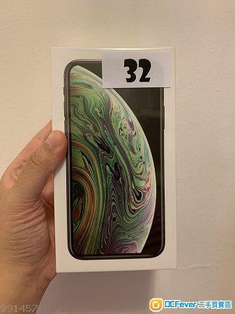 Iphone XS 256G 太空灰 全新連包裝 有保養