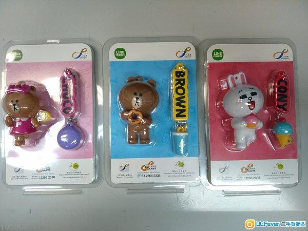 全新的 Line friends 3D 八達通 brown Choco