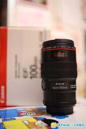 Canon EF100mm f/2.8L Macro IS USM