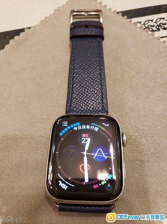 Apple watch series 4 銀色不锈鋼44mm LTE + airpod