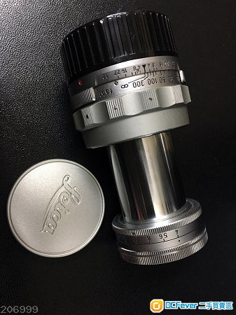 Leica Elmar 9cm F4 collapsible m mount 90mm