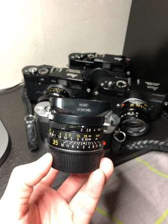 Leica summicron 35mm f2 7 element (Canada)