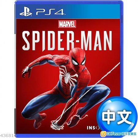 Spider-man 蜘蛛俠(中文版) - PS4