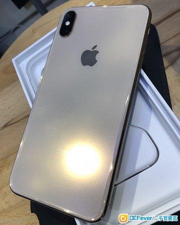 保養至2019年10月 99%新 行貨iPhone XS Max 256gb gold 極新淨