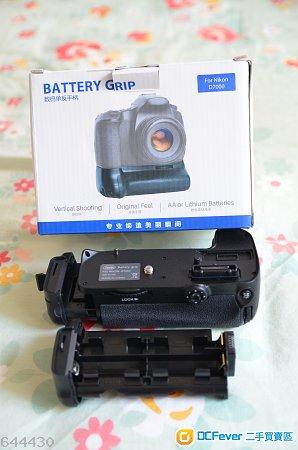 99% New Nikon D7000 Battery Grip 副廠直倒 (不是原廠 MB-D11 , not MB-D11)
