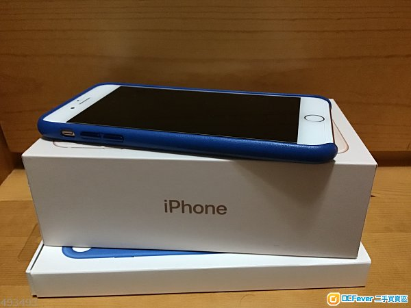 iPhone 8 Plus 金色 256Gb (跟Apple皮Case)