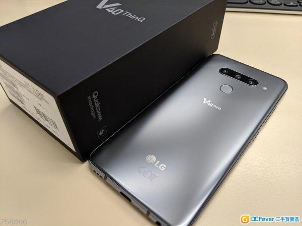 售 98% New LG V40ThinQ 128gb 灰色有保豐澤行貨