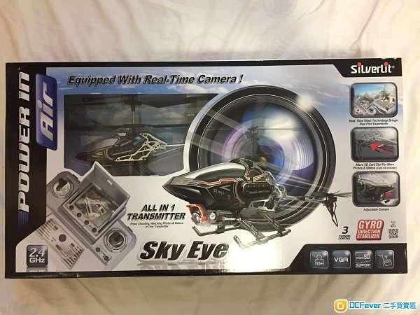100%全新 Silverlit Sky Eye 實時影像遙控直昇機