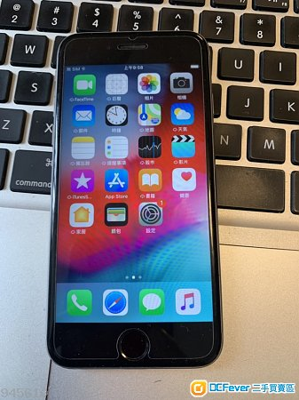 iPhone 6s 64GB 太空灰 港行 新電