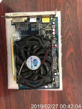 二手 SAPPHIRE HD5670 HM 512MB D5 PCIE DISPLAY CARD