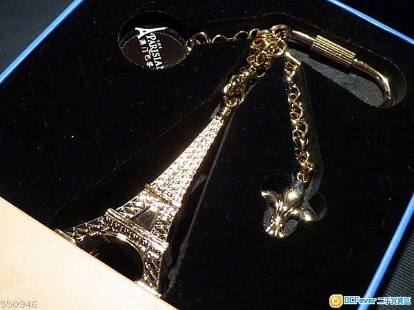 澳門巴黎人開幕紀念鎖匙扣 非賣品 巴黎鐵塔