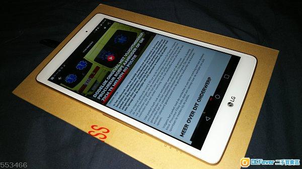 LG T mobile G Pad X 8.0 V521 4G LTE 平板機