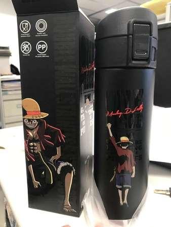 全新信用卡禮品 正版 海賊王 保暖杯