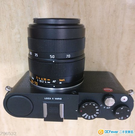 Leica X- Vario Typ107 黑色機