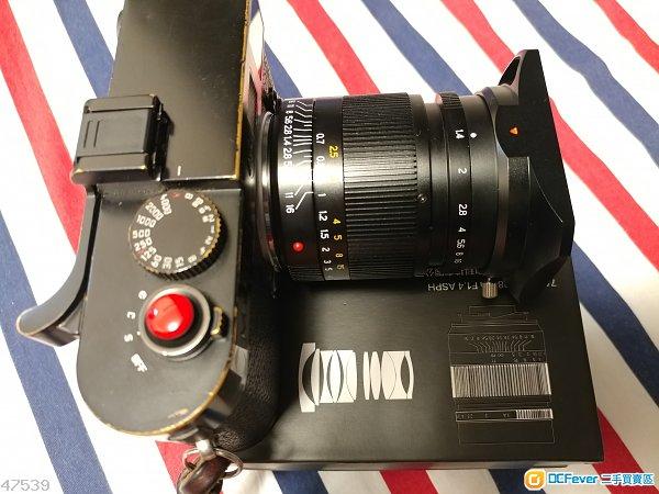 7工匠 28mm f1.4 for Leica M