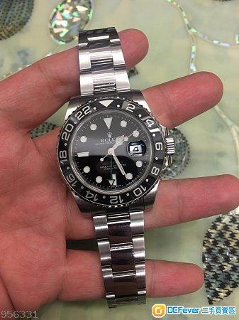Rolex GMT ll 錶帶(一格)95%新