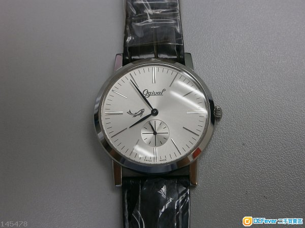 Ogival Swiss 手上鍊機械手表, 買左無戴過, 98新