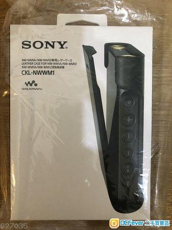 出售原裝未拆 SONY WM1A / WM1Z 定制真皮套