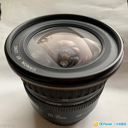 Canon EF 20-35mm f/3.5-4.5 Lens