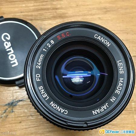 Canon FD 24 F2.8 SSC