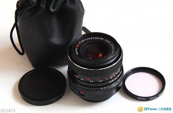 Carl Zeiss 35mm f2.4 Jena Flektogon electric DDR MC版 95% new