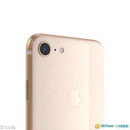 香港SUNING購買極罕有長保養行貨APPLE新機一樣 IPHONE 8 64GB 金色憑單保養跟機套玻璃貼