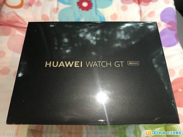 *未拆封*100%全新 華為 Huawei Watch GT *46mm 香港行貨 跟單據 黑色*100%new !  *