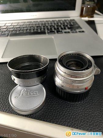 Leica Summicron 35 8 elements